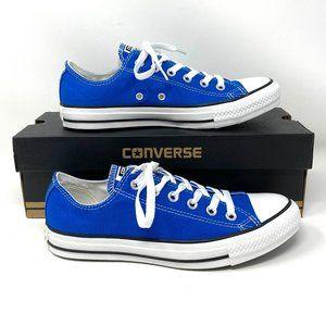 Converse CTAS OX Low Snorkel Blue Canvas Sneaker M
